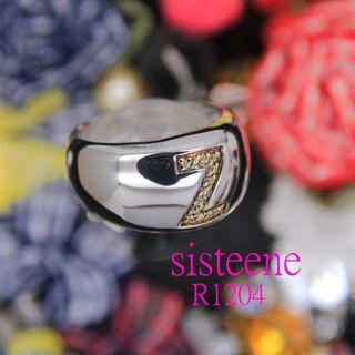 R1204純銀戒指925 Silver Ring