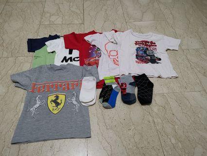 50pc Boys Clothes 2-3yo