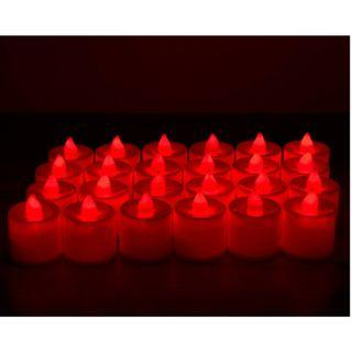 Electronic LED Candles - Red