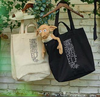 [韓國預售]SPAO Harry Potter Dobby Tote Bag