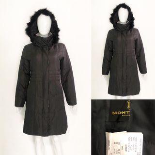 Mont Lilas black winter coat / jacket (Bulu Angsa)