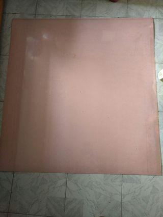 裝修粉紅色膠板