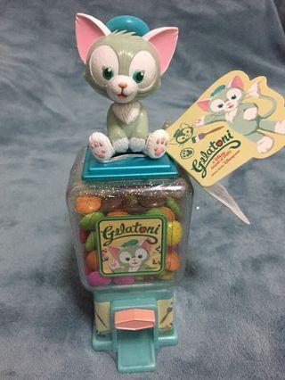 🚚 (In Stock) HK Disneyland Duffy Friends Gelatoni Candy Dispense