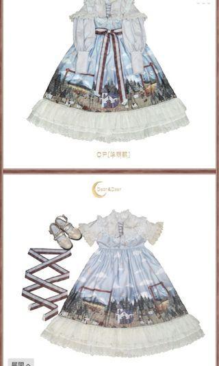 華麗款連衣裙lolita