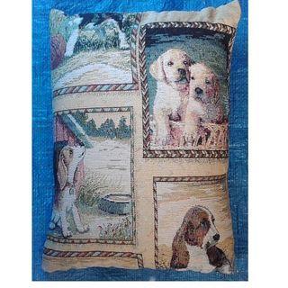 Tapestry Dog Cushion
