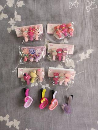 To bless; Assorted hair accessories