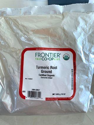 Turmeric Root Certified Organic 有機黃姜粉