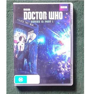 Doctor Who Series 10 Part 1 dvd