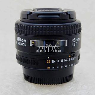 Nikon AF35mm f2D **Mint with box packaging**