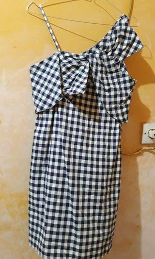 Dress Kotak Kotak