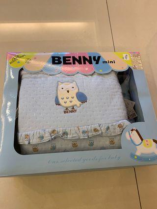 貓頭鷹枕頭+小被被禮盒