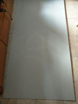 裝修膠板粉藍色