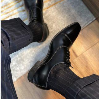 正裝男襪 商務條文男襪 優質絲襪