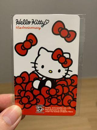 (NEW) Limited Edition Hello Kitty Ezlink card