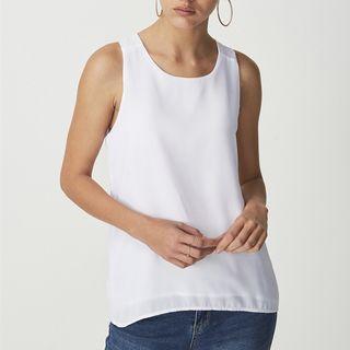 Cotton On Olivia Tank in White