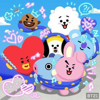 [PREORDER] BT21 ITEMS