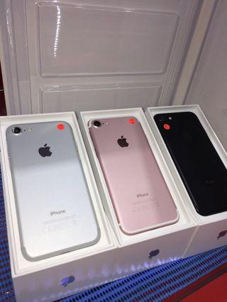 Iphone 7 32gb all colour