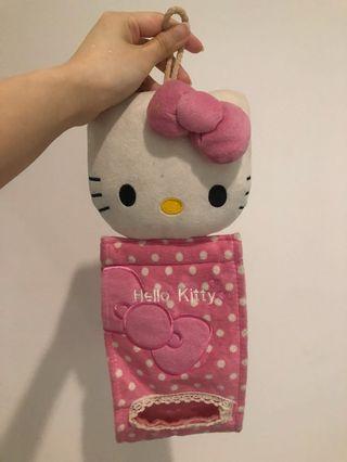 Hello Kitty Tempat Tissue Roll