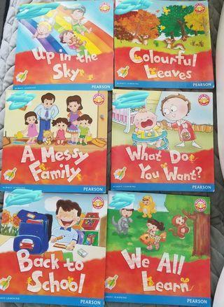 Pearson 幼稚園書共 7本
