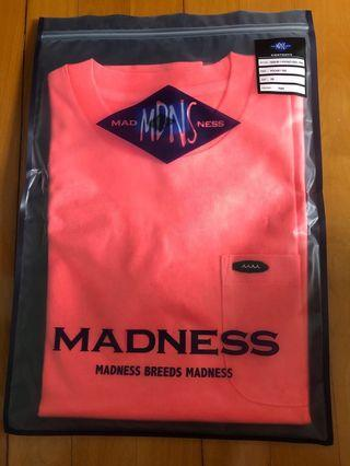 Madness pocket tee (xs 全新)