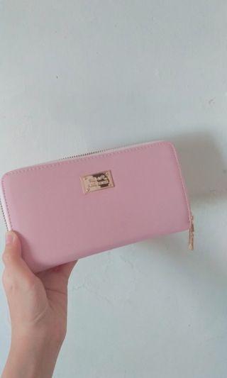 🚚 粉紅色皮夾