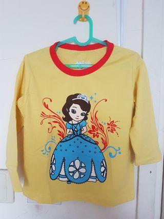 Kaos Anak Princess