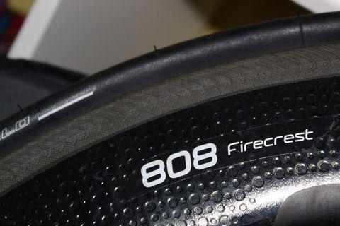 2018 Zipp 808 firecrest rear wheel (negotiable)