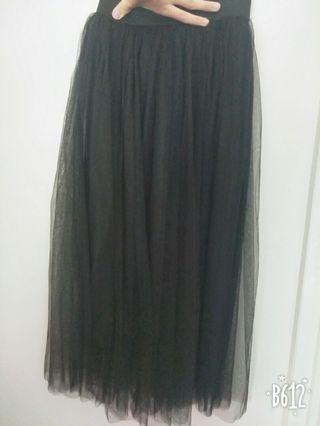 🚚 黑色氣質紗裙