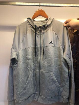 Jaket Hoodie Adidas Abu