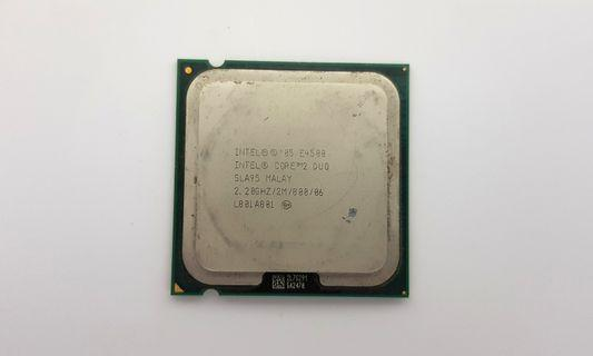 Processor Intel Core 2 duo