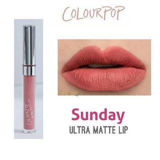 Colourpop Ultra Matte Lip 'Sunday'