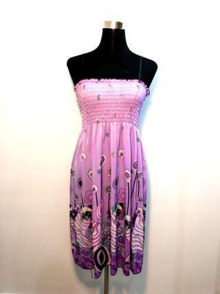 Beach dress (Pink)