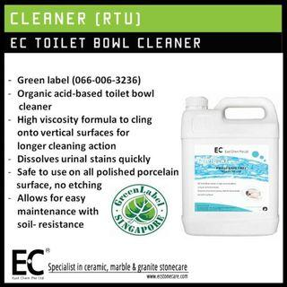 ECO Friendly EC Toilet Bowl Cleaner [Green Label Certified]