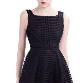Dasabelle Long Dress (Black) from Doublewoot #carouraya