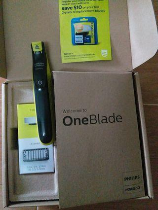 Philips oneblade hybird trimmer and shaver