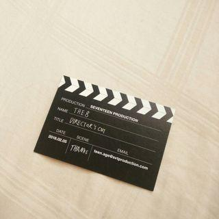 WTS THE8 DIRECTOR'S CUT business card