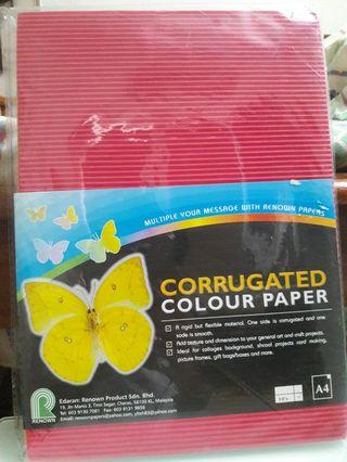 Corrugated Colour Paper