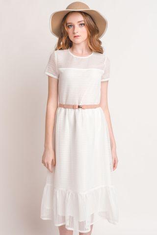 BN L'zzie Arias Dress (White)