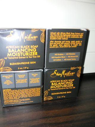 Shea moisture balancing moisture(含茶樹油)