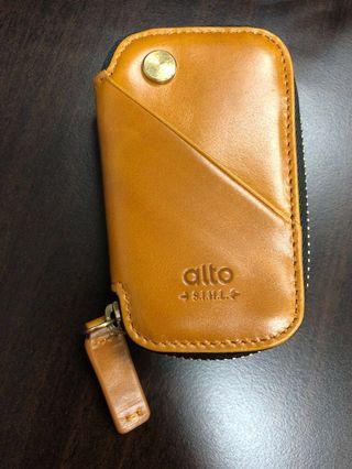 Alto key pouch - caramel