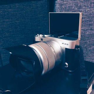 FUJIFILM XA3 with 16-50mm kit lens