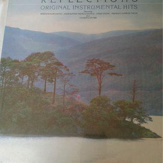 Vinyl Record  :  REFLECTIONS  : -  ORIGINAL INSTRUMENTAL HITS