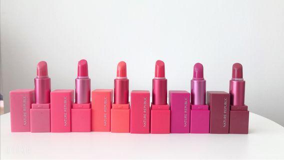 Natural Republic Lipstick Mini Kit