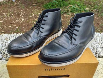 Brodo Monza Black Ivory Sole - Size 44