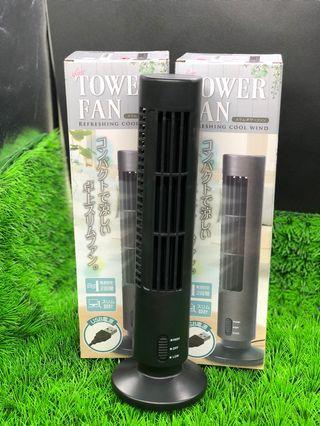 USB Tower Fan [Black] (Toreba)