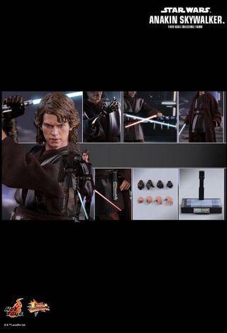 全新現貨 hot toys Star Wars anakin skywalker mms437 hottoys 星球大戰 Darth Vader