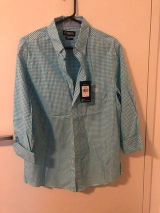 Chaps Men's Shirt NWT Size L RRP $55 + Bonus Shirt (used)