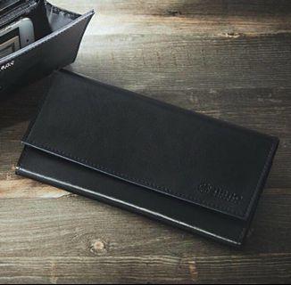 日本雜誌 mono max 贈送nano universe 黑色皮革長夾