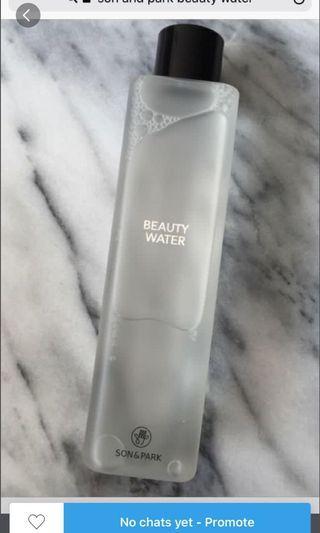 Beauty water $50 rrp