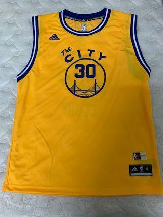 🚚 Adidas curry 黃色籃球衣